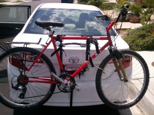 2013-08-03 Used Mountain Bike Newly Bought